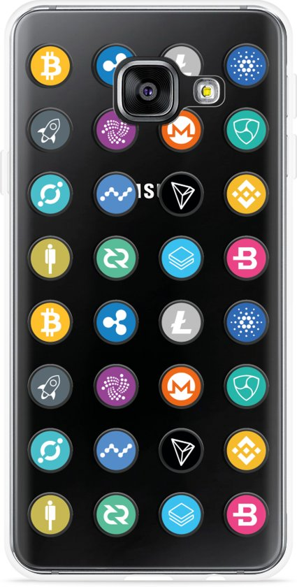 Galaxy A5 (2016) Hoesje Cryptocurrency