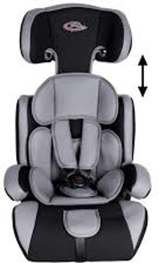 Kinderstoel Auto 6 Jaar.Autostoeltje S Autostoeltje Autostoel 9 36 Kg In Zwart Grijs Met Extra Vulling 400212