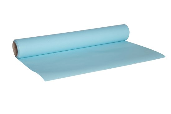 Cosy&Trendy for professionals Tafelloper - 0,4 m x 4,8 m - Papier - Blauw Valentinaa