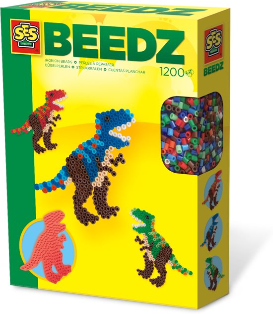 SES Beedz Strijkkralen - Dino