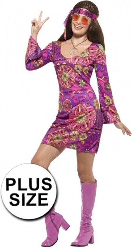 4f353173476ddd Grote maten hippie jurk voor dames 44-46 (L)