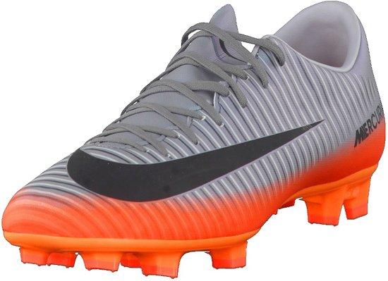 cheaper 528a0 2c31c Nike Mercurial Victory VI CR7 FG Voetbalschoenen - Maat 42 - Mannen - grijs oranje