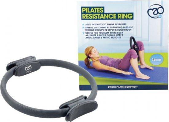 MADFitness - Pilates Ring - Dubbele Handgreep - Glasvezel - Diameter 35 cm
