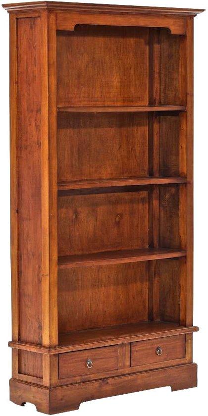 clp elmer boekenkast mahoniehout rustiek