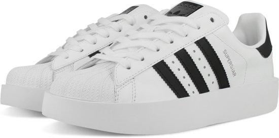 adidas superstar dames zwart wit