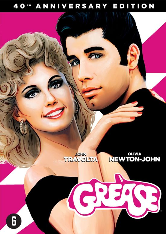 DVD cover van Grease (40th Anniversary)