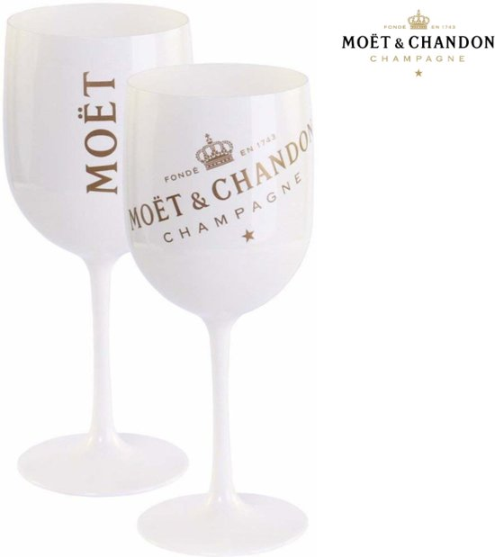 Moët & Chandon Ice Imperial Glas / Glazen - Luxe Champagneglas - Limited Edition
