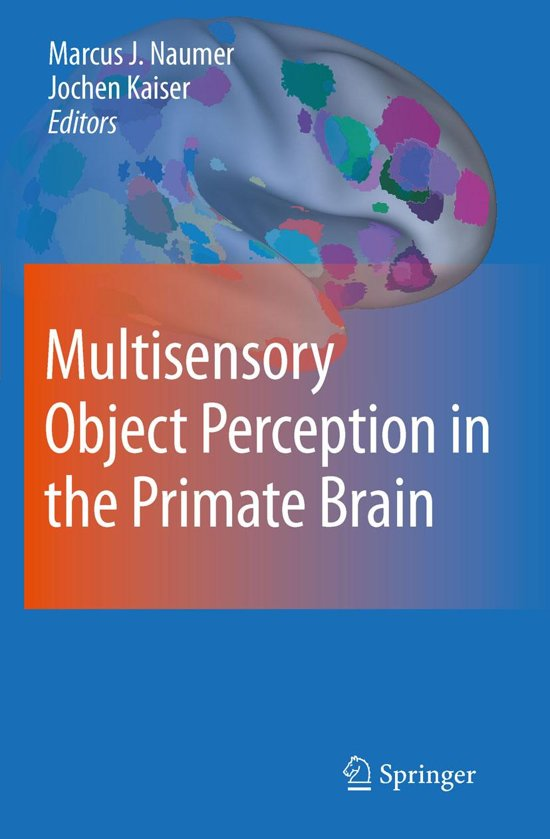 Multisensory Object Perception in the Primate Brain
