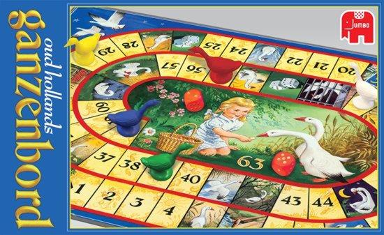 Afbeelding van het spel Jumbo Oud-Hollands Ganzenbord