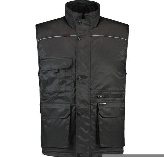 Tricorp Bodywarmer industrie - Workwear - 402001 - zwart - Maat S