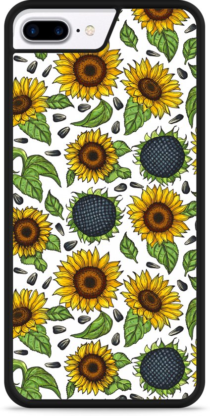iPhone 7 Plus Hardcase hoesje Sunflowers