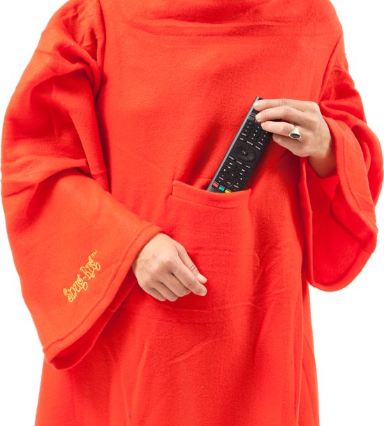 Tv Fleece Deken.Bol Com Snug Rug Tv Deken Rood