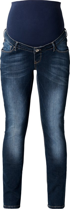 Noppies Straight Zwangerschapsjeans Mena - Dark Stone Wash - 28