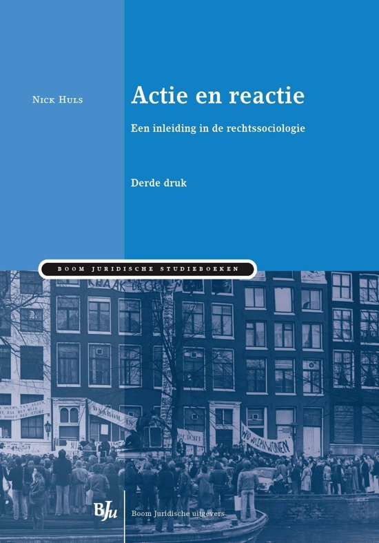 Boom Juridische studieboeken Actie en reactie
