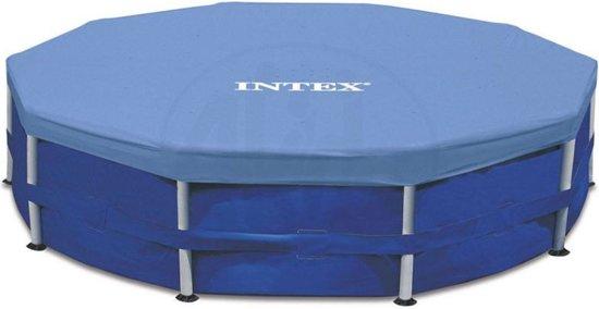Intex Afdekzeil Zwembad Frame Blauw