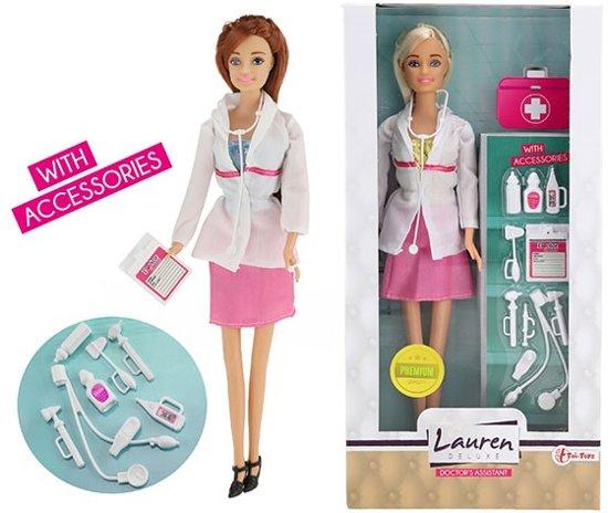 LAUREN Dokter tienerpop barbie met accessoires
