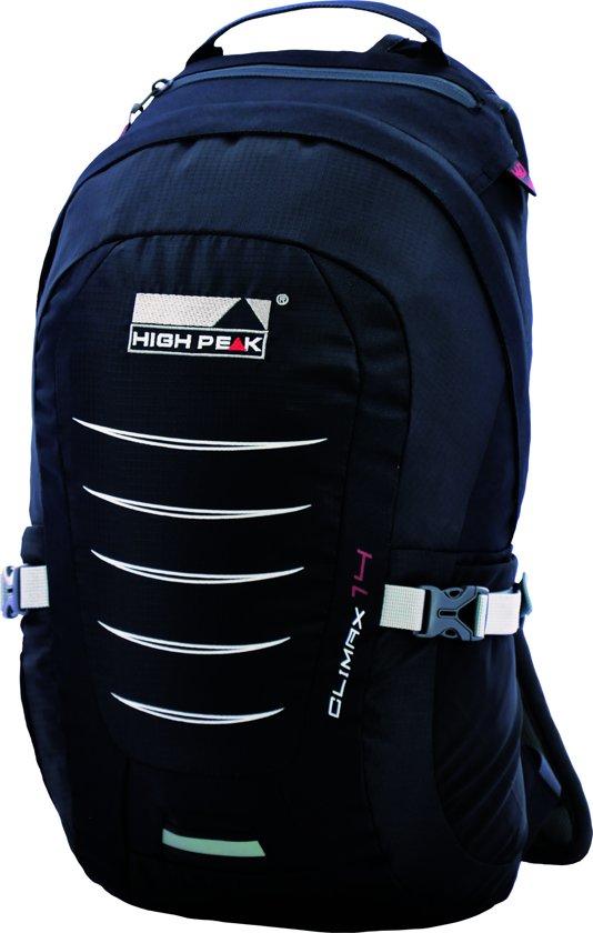 902408eaef3 bol.com | High Peak Climax 14 Rugzak - 14 Liter - Zwart