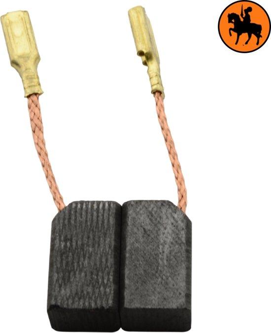 Koolborstelset voor DeWalt DW133A - 6,3x8x13,5mm
