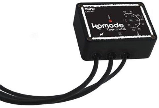 Komodo Thermostaat Euro Plug 100 - Watt