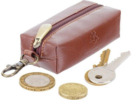 Visconti Monza Leder Sleuteltasje / Geld portemonnee (MZ18bn)