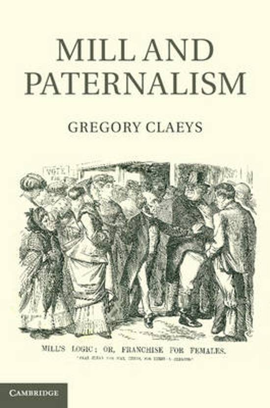 a view on the paternalism principle