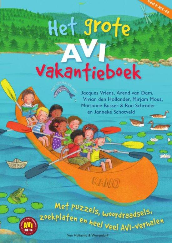 Boek cover Het grote AVI vakantieboek 2 van Marianne Busser (Paperback)