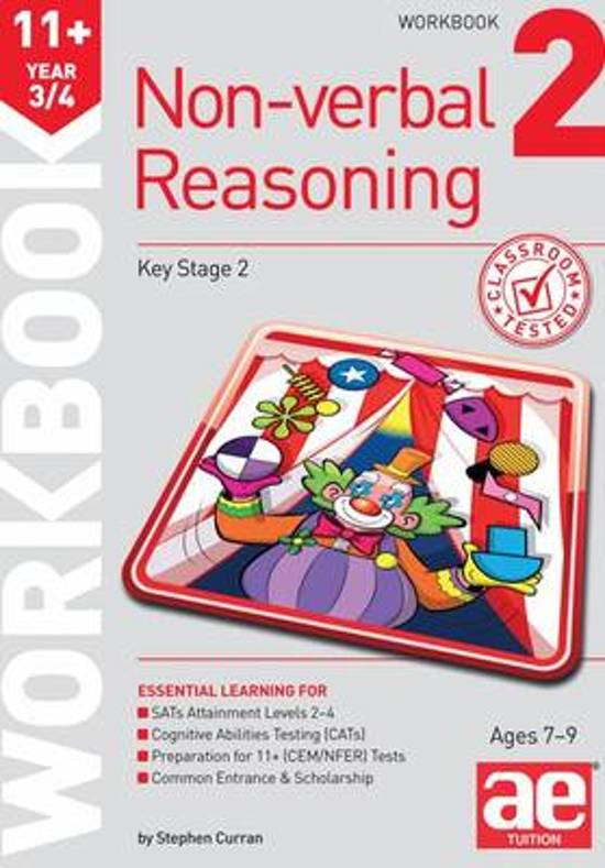 11+ Non-Verbal Reasoning Year 3/4 Workbook 2