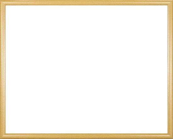 Homedecoration Biggy – Fotolijst – Fotomaat – 21 x 42 cm – Kunststof – Licht beuken