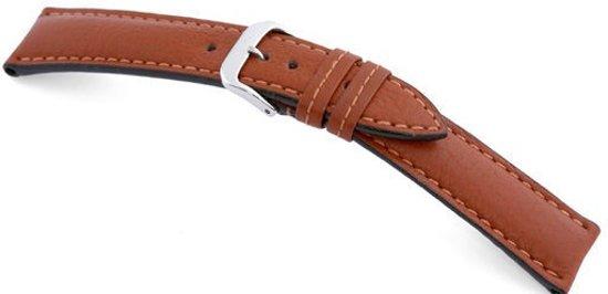Rios1931 Horlogeband -  Colorado Cognac - Leer - 18 mm