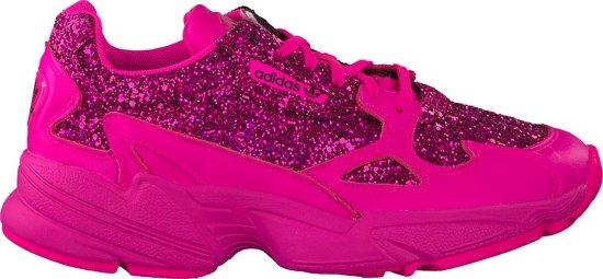 de90ef43147 bol.com | Adidas Dames Sneakers Falcon W - Roze - Maat 39⅓