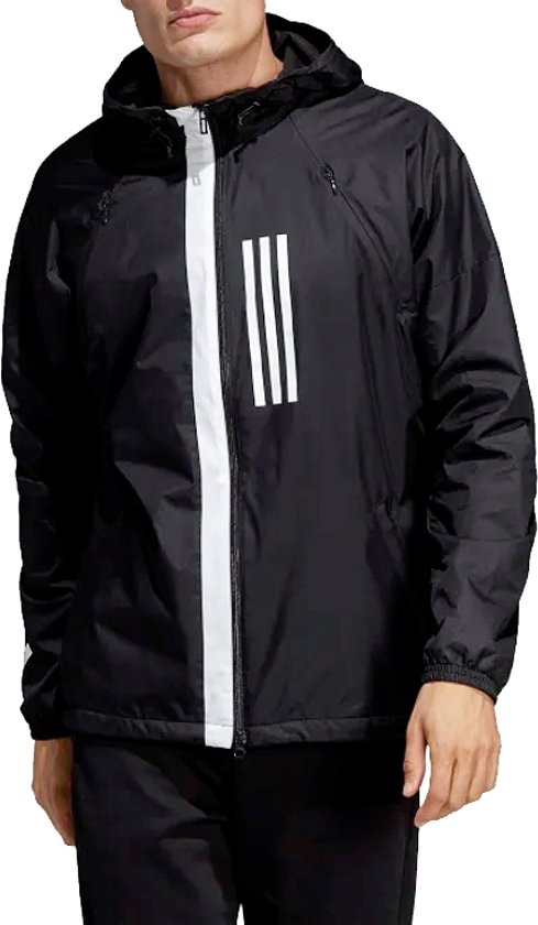 | adidas ID WND Jacket DZ0052, Mannen, Zwart