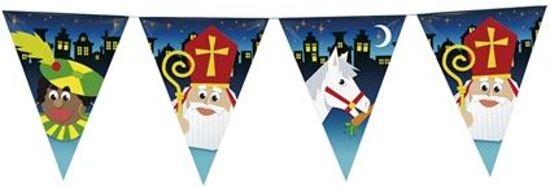 Vlaggenlijn Sint, Piet en Americo 10 meter