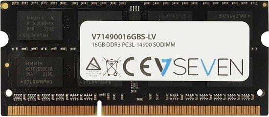 V7 V71490016GBS-LV geheugenmodule 16 GB DDR3 1866 MHz