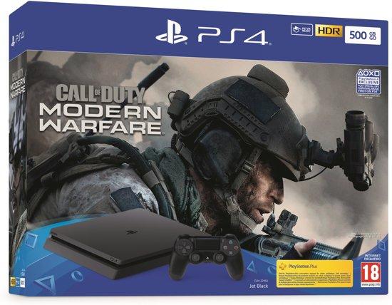 Afbeelding van PlayStation 4 500GB + Call of Duty: Modern Warfare - PS4