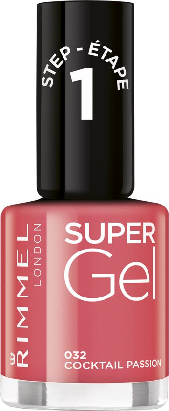 Rimmel London SuperGel Gel Nagellak - 032 Cocktail Passion
