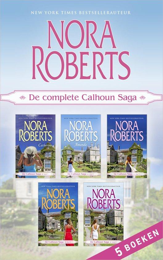 Boek cover De complete Calhoun Saga (5-in-1) van Nora Roberts (Onbekend)