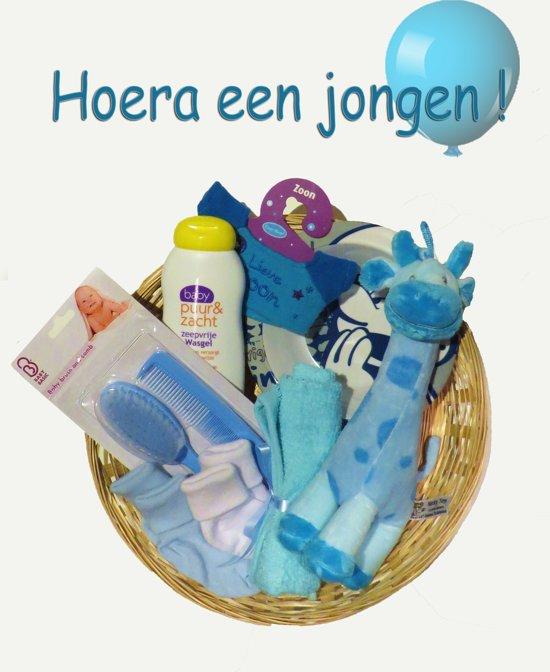 Bolcom Kraammand Geboorte Zoon Hoera Een Jongen Cadeau Baby