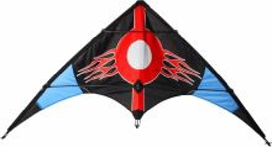 Airow Stuntvlieger - Cobra 115 - Zwart/Rood/Blauw