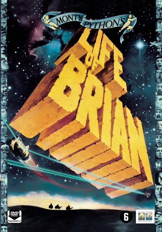 DVD cover van Monty Pythons Life Of Brian