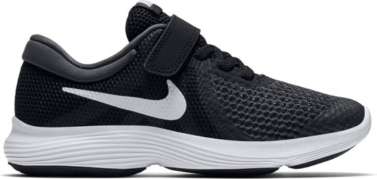Nike Revolution 4 Bpv Jongens Sneakers - Black/White-Anthracite - Maat 33