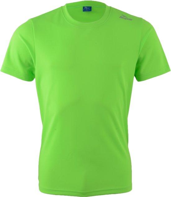 Rogelli Promo Running T-shirt Sportshirt - Maat XL  - Mannen - groen