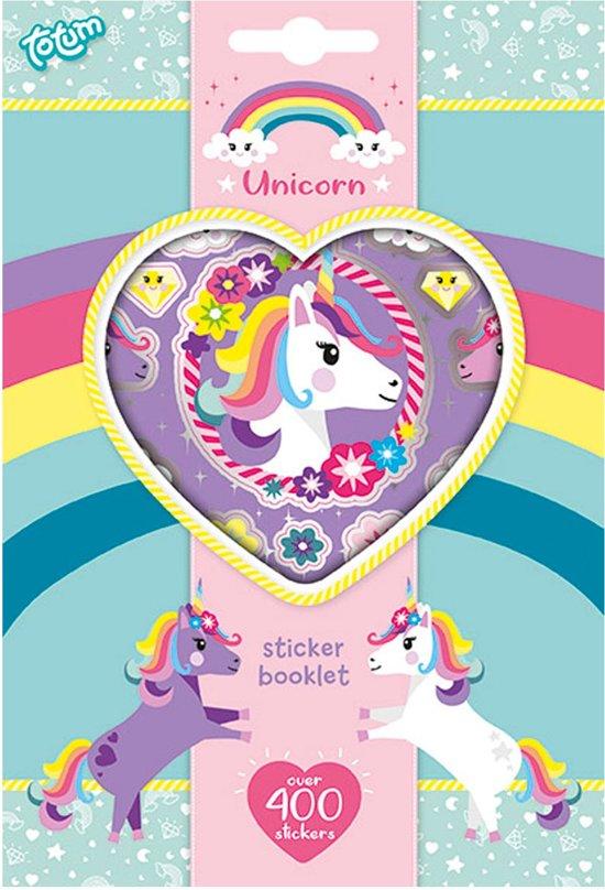 Totum Unicorn Sticker Book 4 Sheet kindersticker