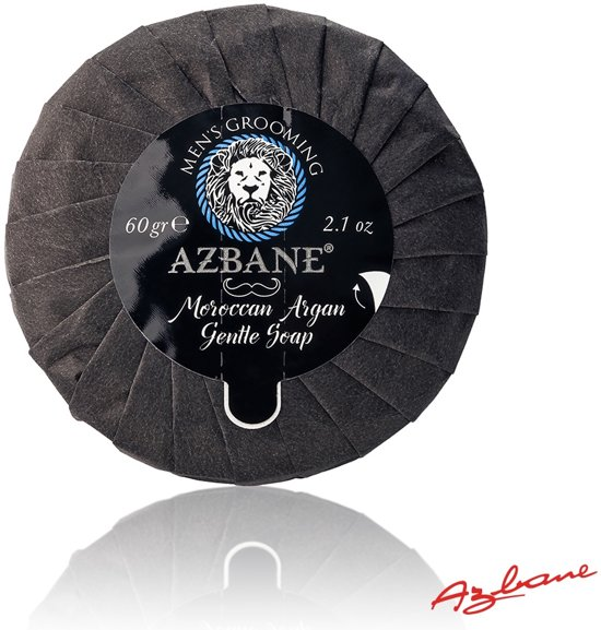 Azbane | Marokkaanse Argan Zachte Zeep - 60 gr