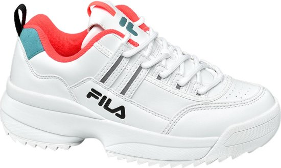 9afdf7cfc0f Fila Dames Witte chunky sneaker - Maat 37