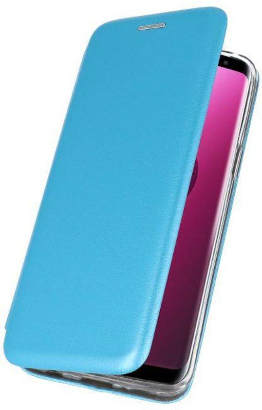 Wicked Narwal   Slim Folio Case voor Samsung Samsung Galaxy J6 Plus Blauw