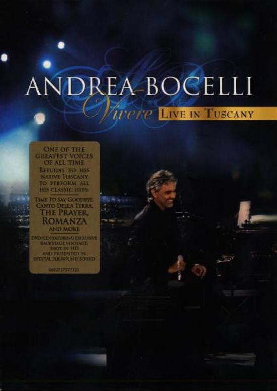 Andrea Bocelli - Vivere - Live In Tus + Cd