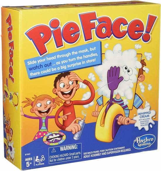 Pie Face /Toys