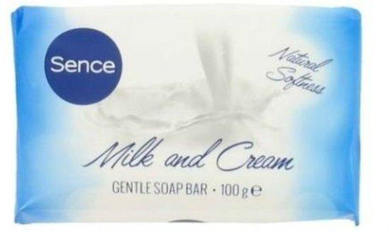 Sence Zeep - Gentle Bar Milk & Cream 6 x100 gr.