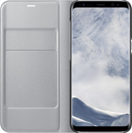 bol.com   Samsung LED view cover - zilver - voor Samsung G950 Galaxy S8