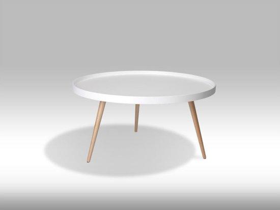 Bol.com solliden osaka salontafel rond 90 cm wit